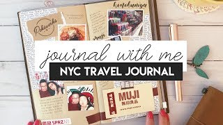 Journal With Me · NYC Trip! · Traveler's Notebook