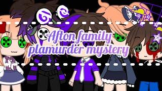 Afton family play Murder Mystery •FNAF•