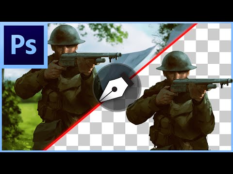 Oshop Cs6 Cc How To Cut Out An Image Remove Delete Background