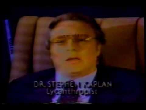 1987 Commercial - Werewolf the Series / Dr. Stephen Kaplan / WAXA 40