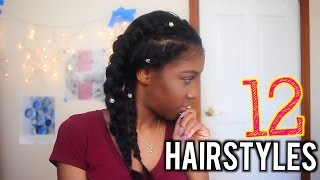 12 STRAIGHT HAIRSTYLES | Angelique Brown