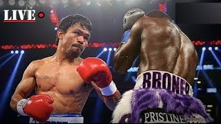 Manny Pacquiao vs Adrien Broner FULL FIGHT COMMENTARY - NO FIGHT FOOTAGE