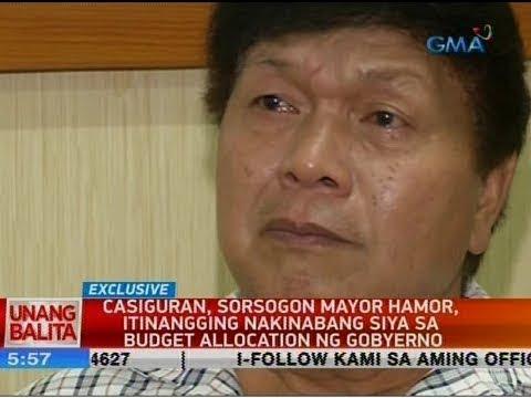 UB: Casiguran, Sorsogon Mayor Hamor, itinangging nakinabang siya sa budget allocation ng gobyerno