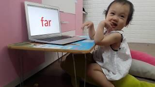 Nhật ký học tiếng ANh Monkey Junior của Chị Đại 1 tuổi ngày 17-05-2019