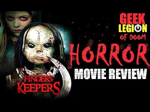 FINDERS KEEPERS ( 2014 Jaime Pressly ) Horror Movie Review