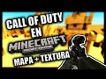 Mapa + Textura De Call Of Duty Para Minecraft Pe!! Review Skyrrel