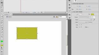 Свободное трансформирование в Adobe Flash CS4 (17/46)