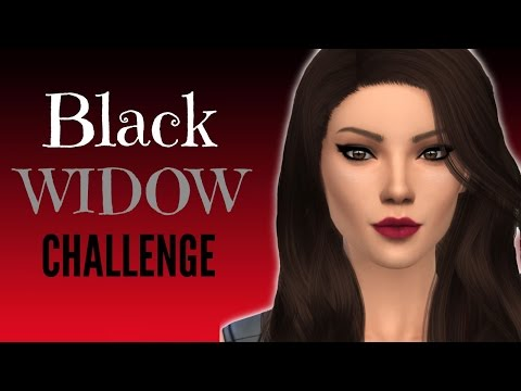 Black Widow Challenge: Sims 4 | Part 31 | PDA