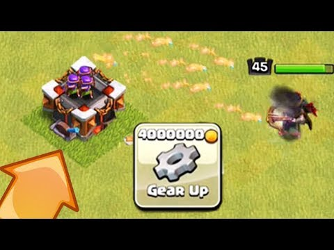 MAXED GEARED UP ARCHER TOWER OP | Clash of Clans | Builder Hall 6 Update