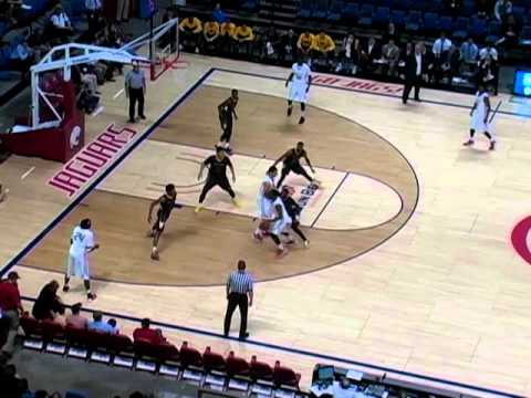 Barrington Stevens III Full Game Film (#4) University of South Alabama vs. Southern Miss  12/14/15