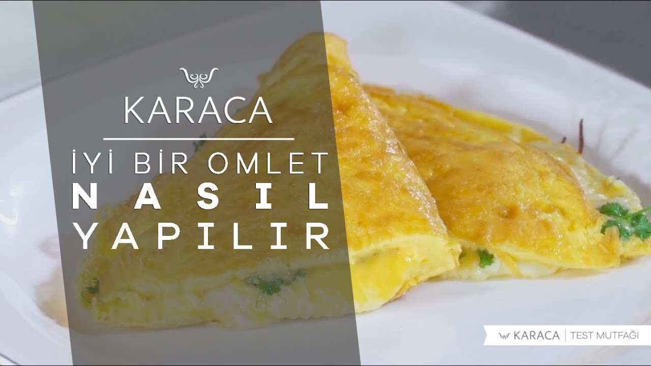 Hızlı ve lezzetli bir omlet nasıl hazırlanır