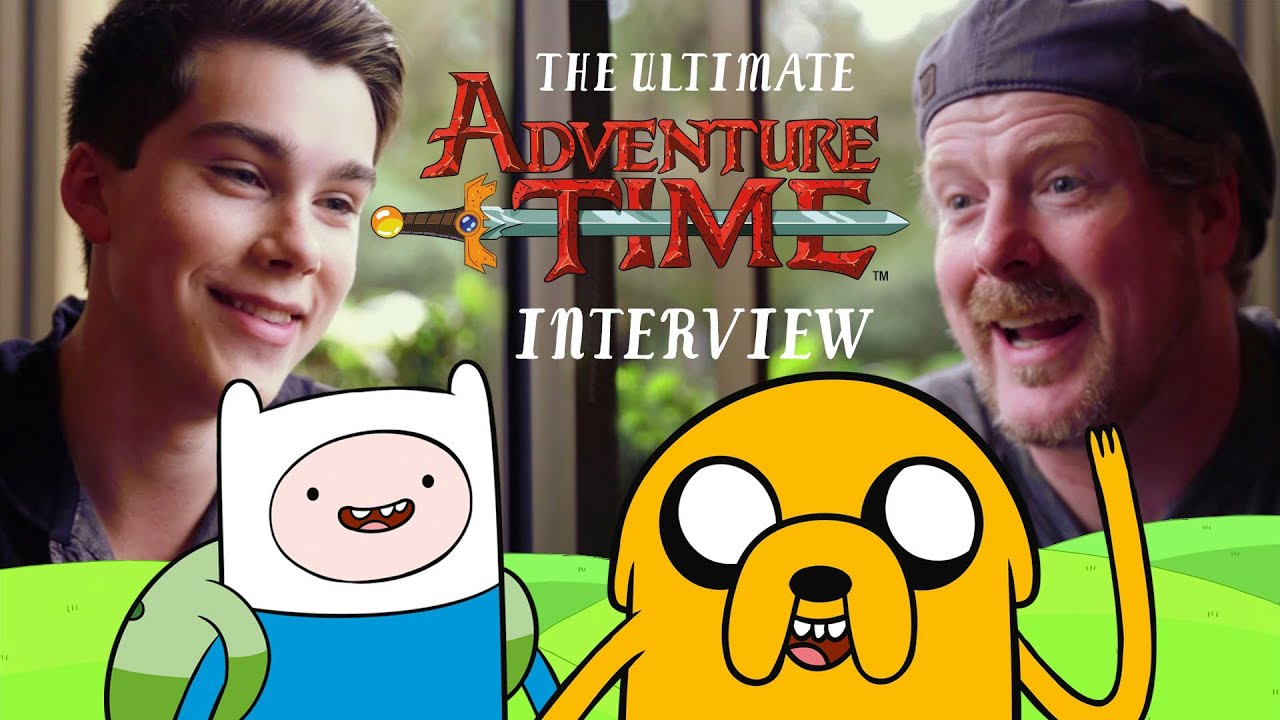 The Ultimate Adventure Time Interview Youtube