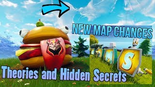 NEW SECRET MAP CHANGES IN SEASON 5 - Fortnite Battle Royale Storyline Mysteries and Theories