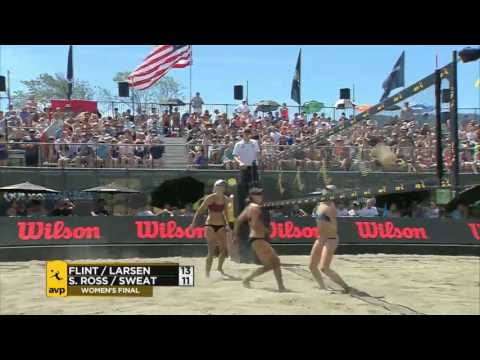 AVP Seattle Open 2017: Women's Final: Flint/Larsen vs Ross/Sweat
