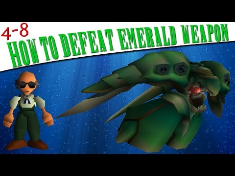 FFVII - How To Defeat Emerald WEAPON