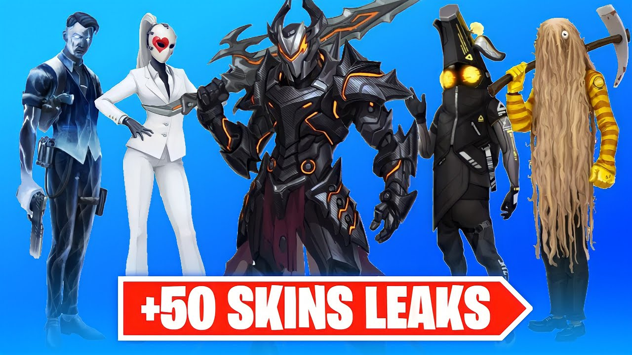 Download *NEW* +50 SKINS LEAKED...!