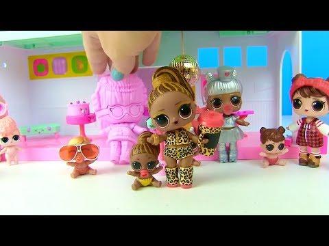 видео: Куклы Лол Мультик! Челлендж - Отгадай свою старшую сестру! lol surprise challenge