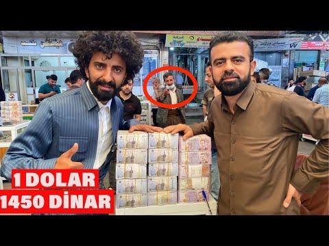 PARA DOLU SOKAKLAR! Erbil Pazar ve Market Fiyatları! 1 Dolar 1450 Dinar /199