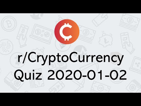 Cryptocurrency to watch 2020 reddit