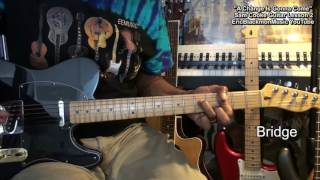 Sam Cooke A CHANGE IS GONNA COME Guitar Lesson Prt 2 Song @EricBlackmonGuitar