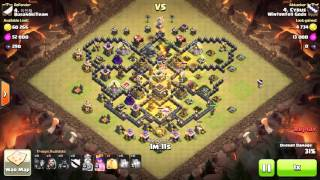 Clash of Clans - TH9 - GoHo - War 129 vs BusanSkiTeam - Cyrus vs #4