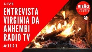 Live Entrevista Virgínia Universidade Anhembi Rádio Tv Caça Fantasmas Brasil #1121