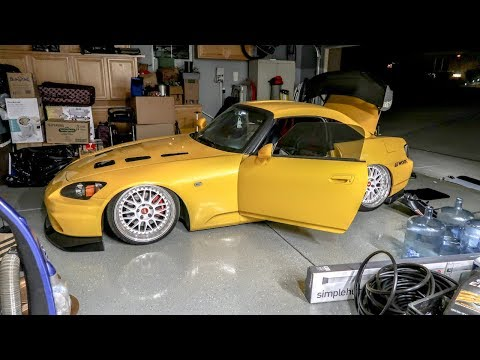 FIXING A BAGGED HONDA S2000! DID HE RUIN IT?