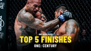 Top 5 Finishes From ONE: CENTURY   ONE Highlights