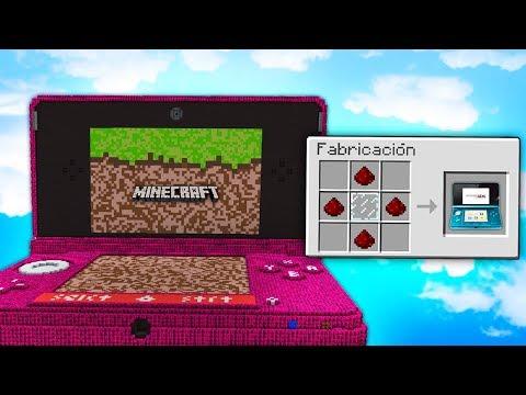 BATALLA de LUCKY BLOCKS en NINTENDO 3DS de MINECRAFT GIGANTE - MINECRAFT LUCKY BLOCKS