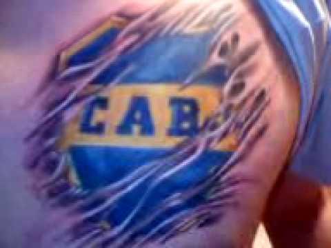 Escudo De Boca Tatuado Por Claudio De Mandinga Tattoo Tattoo