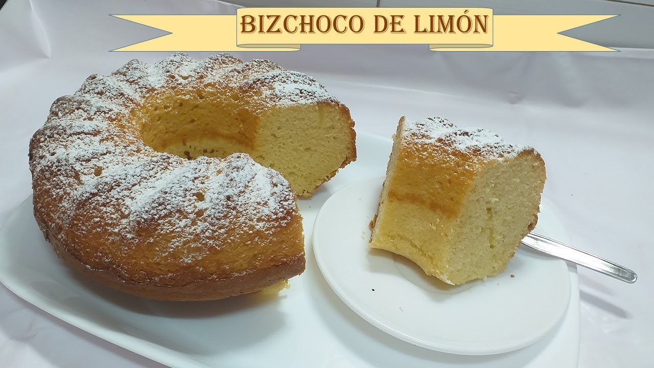 Bizcocho De Limón En Monsieur Cuisine Connect Plus Thermomix Receta Fácil Youtube