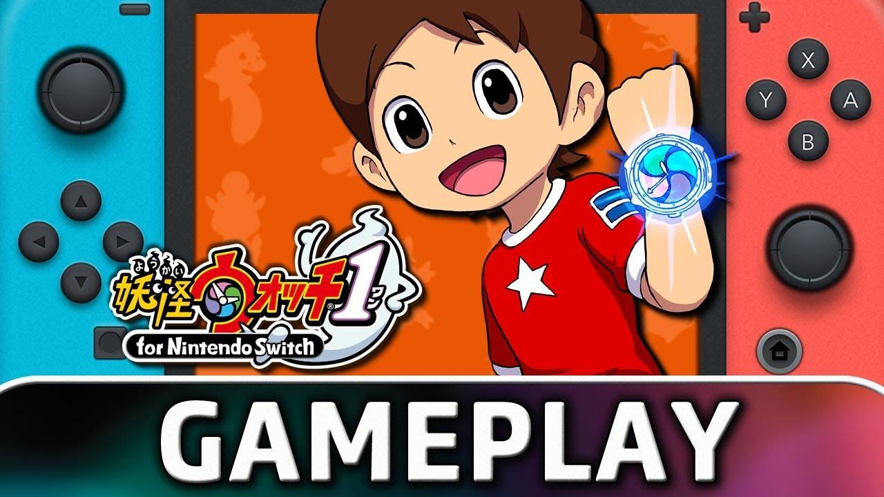 Yo-kai Watch 1 For Nintendo Switch | First 30 Minutes