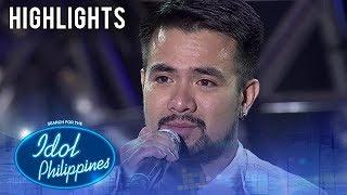 Renwick, naging emosyonal matapos ang kanyang performance | Solo Round | Idol Philippines 2019