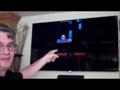 Intel Android Phone As TV Game Controller Via WiDi / Miracast