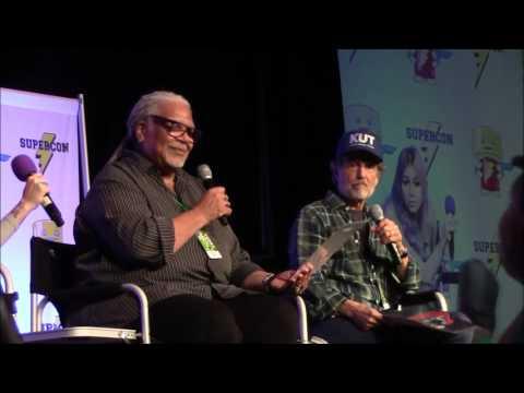 Florida Supercon 2017  Nightmare Before Christmas panel with Ken Page and Chris Sarandon