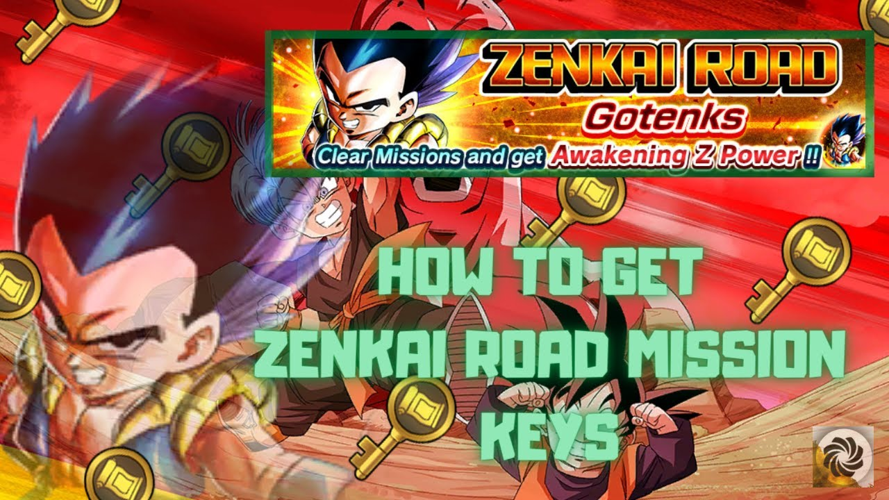How To Unlock The Zenkai Road Missions Golden Keys Dragon Ball Legends Youtube
