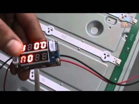 видео: Проверка и временное восстановление светодиодной подсветки телевизора lg 47ln513v