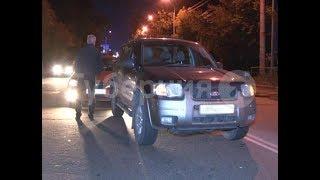 Автомобильная авария произошла в Хабаровске из-за сбитой собаки. Mestoprotv