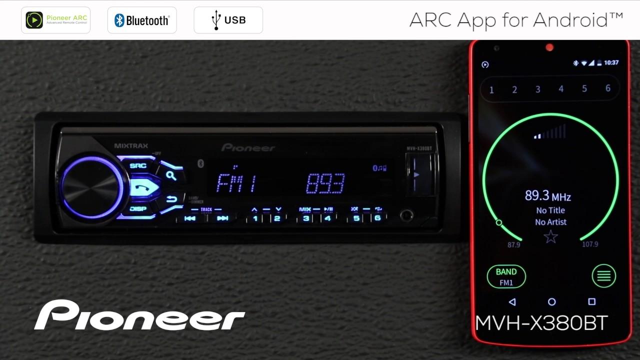 Pioneer MVH-S100UBA Radio USB Compatible Android