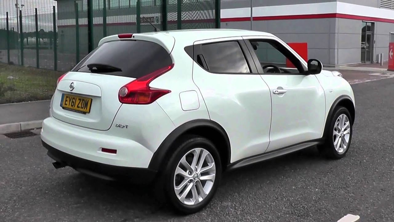 2011 nissan juke tekna ey61zdm pearl white at toomeys southend youtube. Black Bedroom Furniture Sets. Home Design Ideas