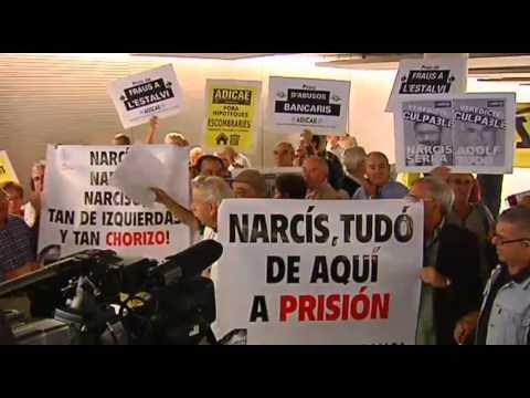 Narcís Serra declara por el caso Caixa Catalunya