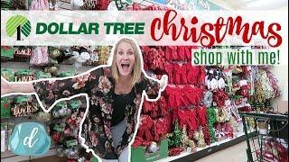 DOLLAR TREE CHRISTMAS SHOP WITH ME! 🎄❤️ DIY & Decor Haul 2017