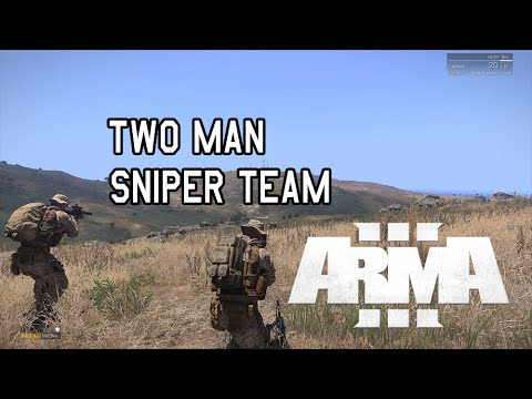 ARMA 3: Two Man Sniper Team