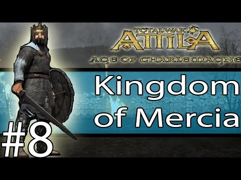 Total War: ATTILA - Age Of Charlemagne - Kingdom of England #8 ~ War with Bohemia!