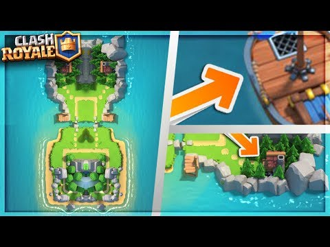 Clan Wars Island / Arena FULL Breakdown! - Clash Royale NEW Update Clan Wars Boat Speculation!