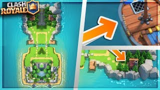 Clan Wars Island / Arena FULL Breakdown! - Clash Royale NEW Update Clan Wars Boat Speculation!