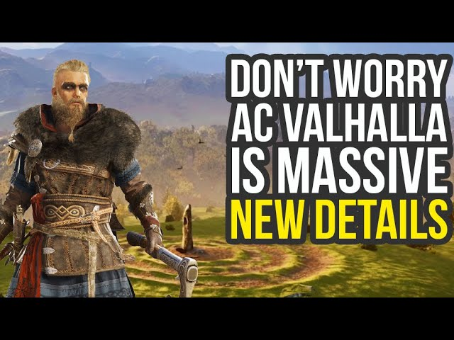 Assassin S Creed Valhalla Gameplay Details Bigger Map Than