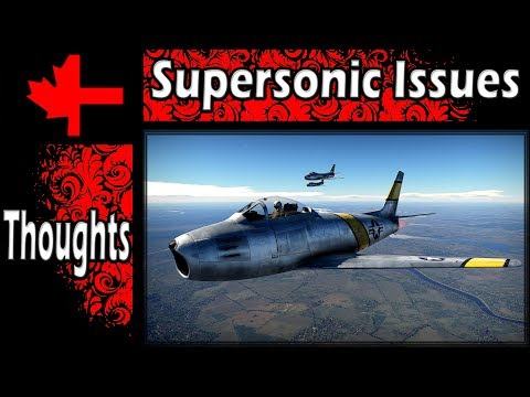 War Thunder - Issues with Supersonic Jets