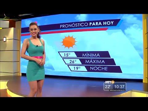 メキシコの超セクシーなお天気お姉さん♥ ヤネット・ガルシアのお天気予報まとめ☆