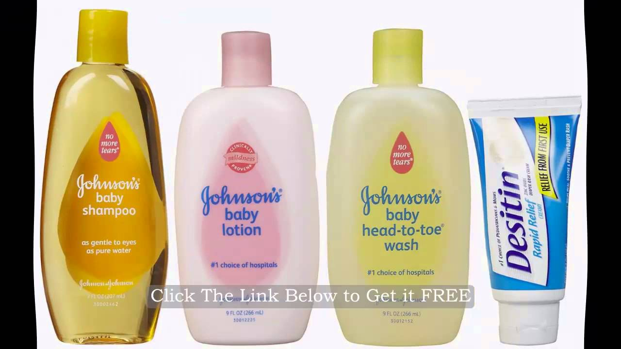 free johnson baby relief kit - YouTube